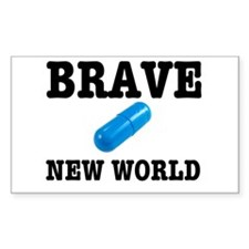 Brave New World Decal