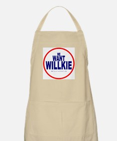 We Want Willkie BBQ Apron