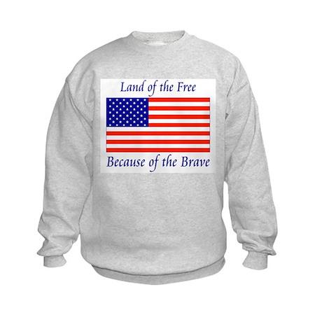 Land of the Free Kids Sweatshirt
