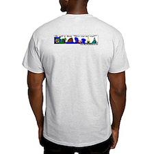 Uni-verse Ash Grey T-Shirt