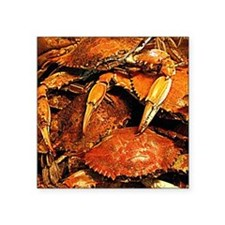 Maryland Steamed Crabs Logo Sticker