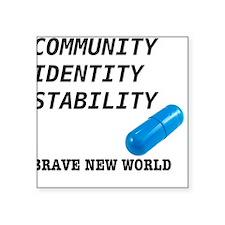 Community, Identity, Stability Sticker