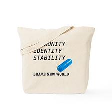 Community, Identity, Stability Tote Bag