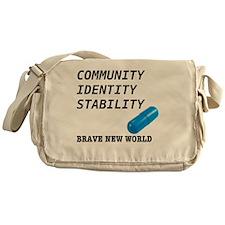 Community, Identity, Stability Messenger Bag
