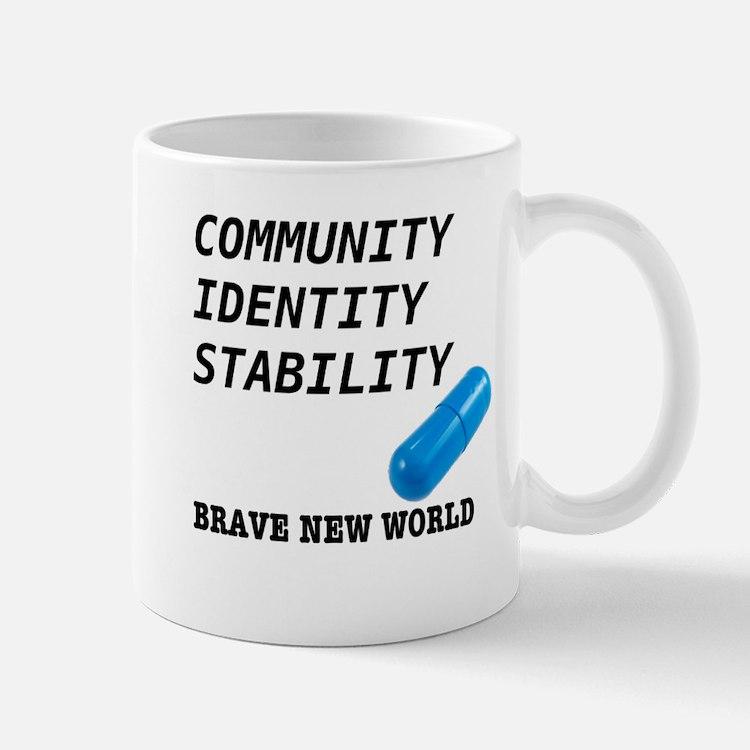 Community, Identity, Stability Mug