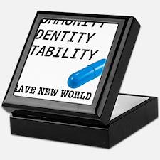 Community, Identity, Stability Keepsake Box