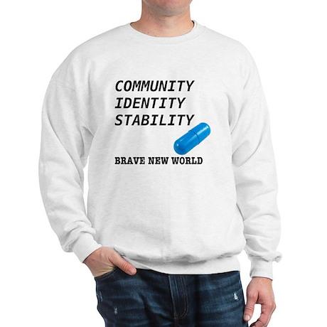 Community, Identity, Stability Sweatshirt