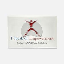 I Speak of Empowerment Rectangle Magnet