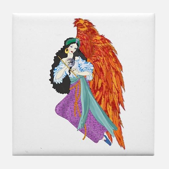 The Firebird Tile Coaster