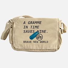 Brave New World - Gramme in Time Messenger Bag