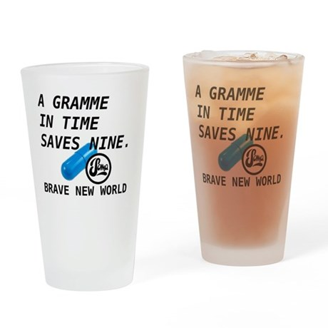 Brave New World - Gramme in Time Drinking Glass