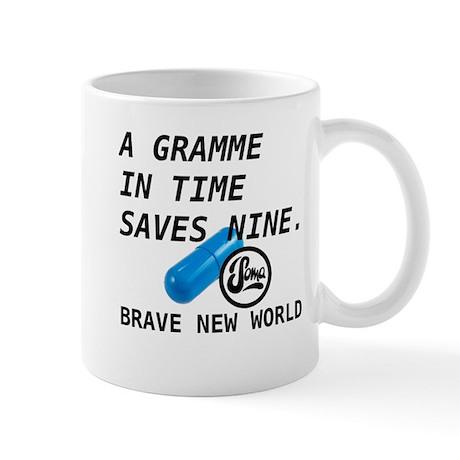 Brave New World - Gramme in Time Mug
