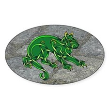 St. Pats Cat Decal