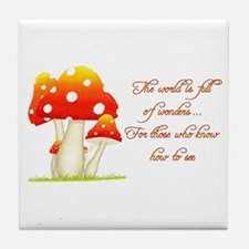 The World is Full of Wonders Tile Coaster