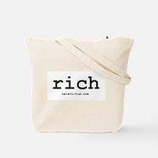 """rich"" Tote Bag"