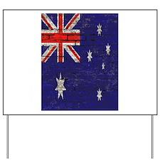 Australian Flag Twin Duvet cover Yard Sign