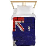 Australian flag twin Twin Duvet Covers