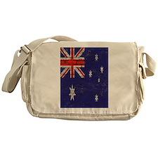 Australian Flag Twin Duvet cover Messenger Bag