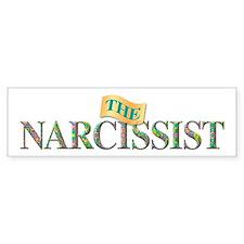 The Narcissist Bumper Bumper Sticker