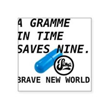 Brave New World - Gramme In Time Sticker
