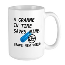 Brave New World - Gramme In Time Mug