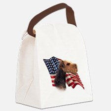 AiredaleFlag.png Canvas Lunch Bag