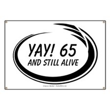Yay! 65 Alive Banner