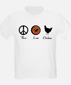 peacelovechickens T-Shirt