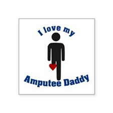 I Love my Daddy Amputee Sticker