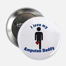 "I Love my Daddy Amputee 2.25"" Button"