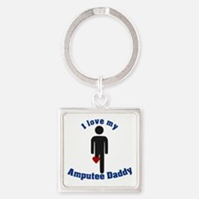 I Love my Daddy Amputee Keychains