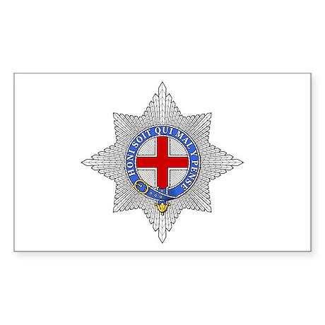 Garter (England) Rectangle Sticker