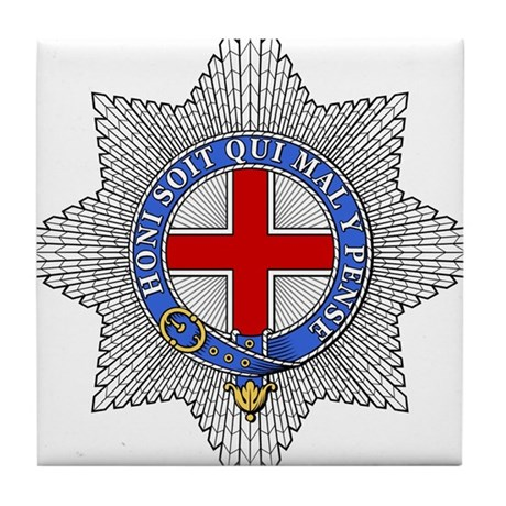 Garter (England) Tile Coaster