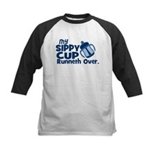 My Sippy Cup Runneth Over Baseball Jersey