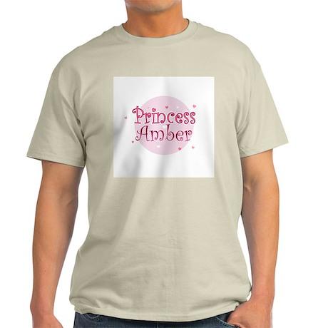 Amber Ash Grey T-Shirt