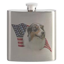 AussieShepFlag.png Flask
