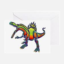Spinosaurus Greeting Card