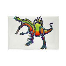 Spinosaurus Rectangle Magnet