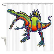 Spinosaurus Shower Curtain