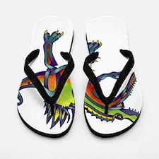 Spinosaurus Flip Flops