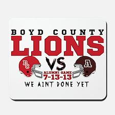 Boyd County Alumni Football Game WE AINT DONE YET