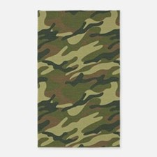 Military Uniform 3x5 Area Rug
