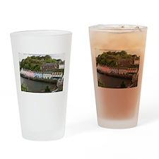 Portree, Isle of Skye, Scotland Drinking Glass