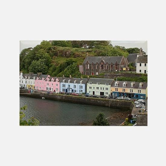 Portree, Isle of Skye, Scotland Rectangle Magnet