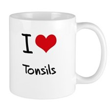 I love Tonsils Small Small Mug