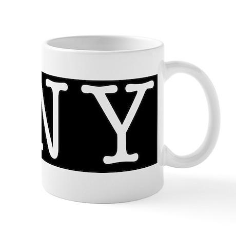 I Bloomberg NY Bumper Stickers Mug