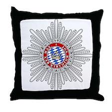 Crown of Bavaria Throw Pillow