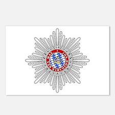 Crown of Bavaria Postcards (Package of 8)