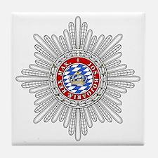 Crown of Bavaria Tile Coaster