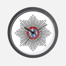 Crown of Bavaria Wall Clock